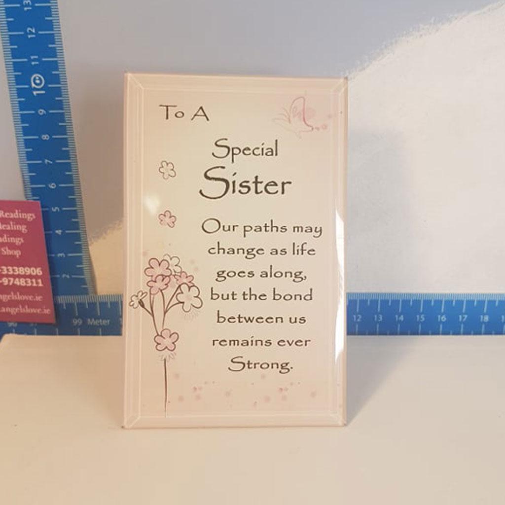 Special Sister Frame Pink