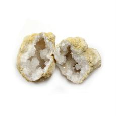 White Quartz Geodes