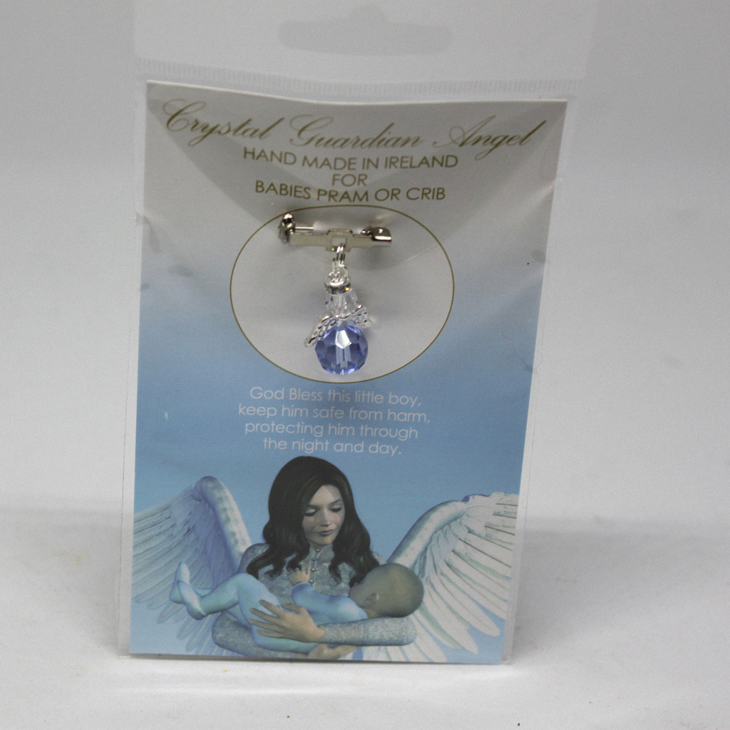 Crystal Baby Charm Blue