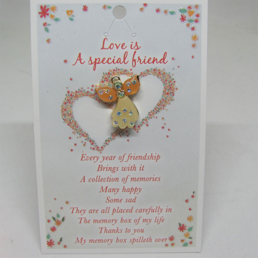 Special Friend Angel Pin