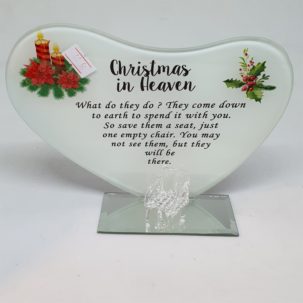 Christmas In Heaven Tea Light Holder
