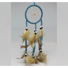 Blue Spider Web Dreamcatcher (small)