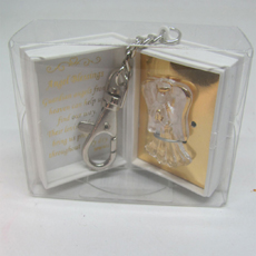 Angel Blessings Key Ring