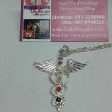 Angel Winged Chakra Balancing Necklace