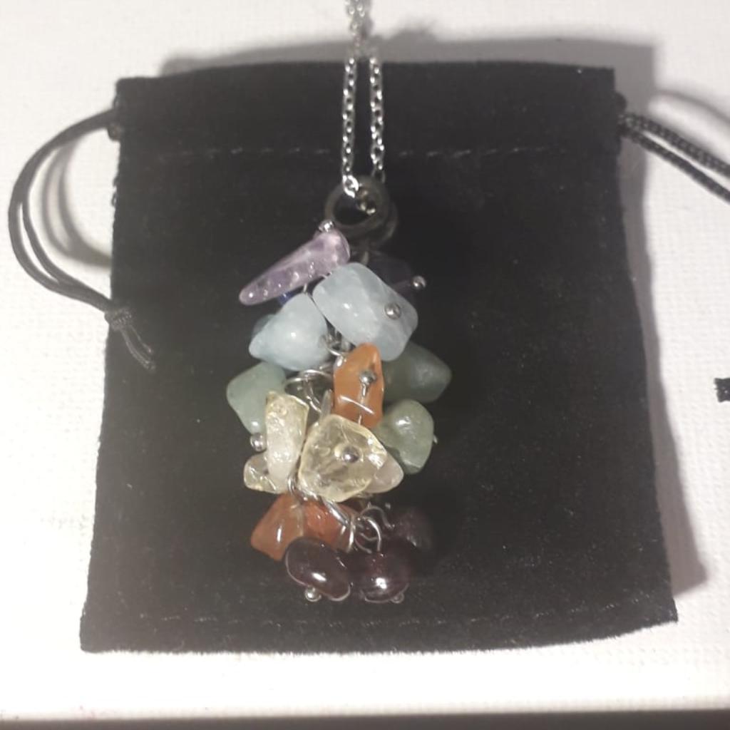 Chakra Crystal Balancing Necklace