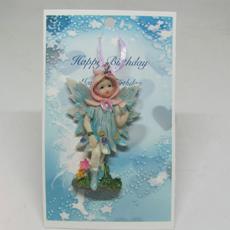 Happy Birthday Fairy Pin